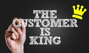 Begin je een winkel Zo laat je een klant zich koning voelen!